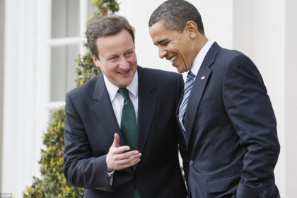Cameron e Obama a colloquio sul War Game cibernetico