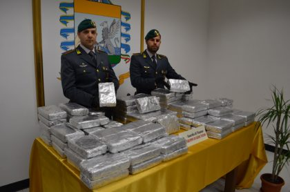 Gioia Tauro. Sequestrati 34 chili di cocaina in un container proveniente dall'Ecuador