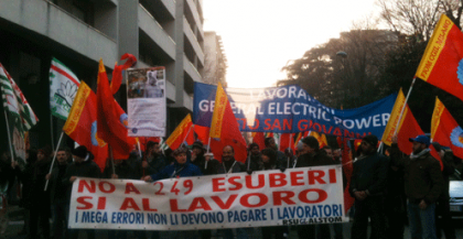 Fuga all'estero di General Electric, in fumo 237 posti di lavoro